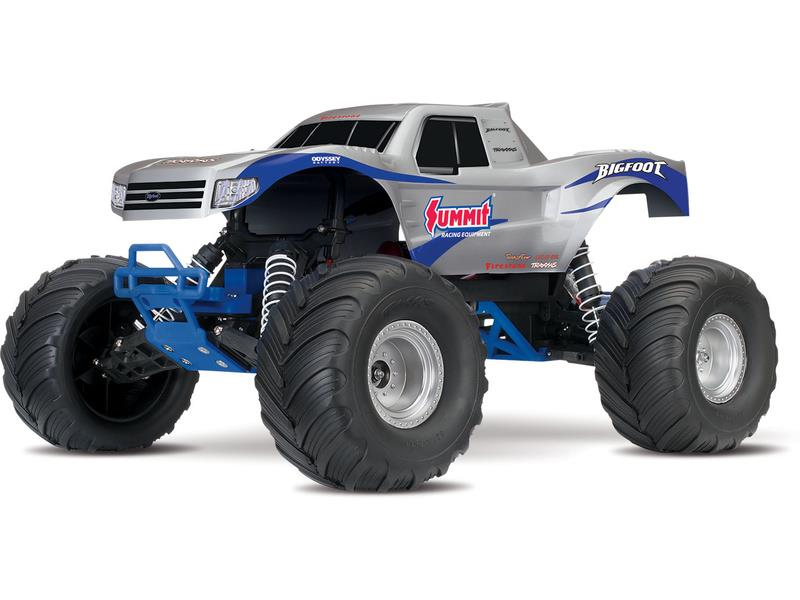 Traxxas Big Foot Monster Truck 1:10 TQ RTR, TRA36084-1, Traxxas 36084-1