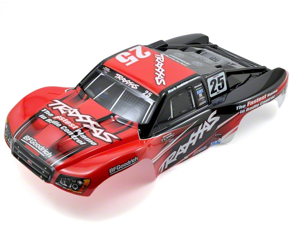 TRA6825 Traxxas 6825 Traxxas Mark Jenkins #25 Body (Slash)