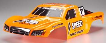 TRA6827 Traxxas 6827 Body Slash 4x4 Robby Gordon Painted, karoserie Slash