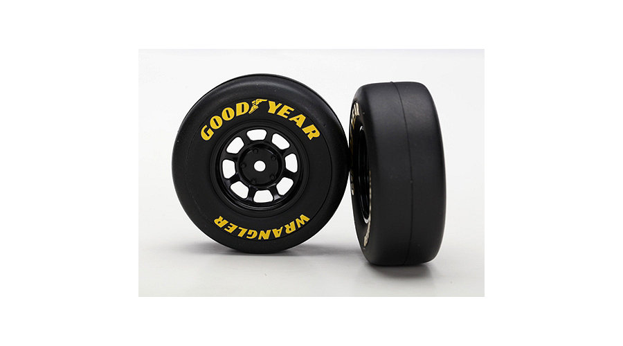 "Kolo univ. On-Road Goodyear 1.9"",černý disk (2), TRA7378, Traxxas 7378"
