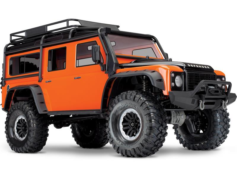 Traxxas TRX-4 Land Rover Defender 1:10 TQi RTR Adventure, TRA82056-4-A, TRA82056-4-A