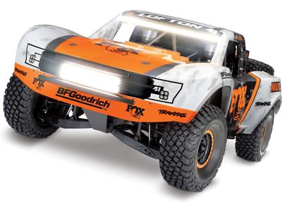 Traxxas Unlimited Desert Racer 1:8 TQi RTR s LED verze FOX, TRA85076-4-FOXL