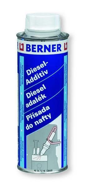 Berner Aditivum do nafty, přísada do nafty, 300ml