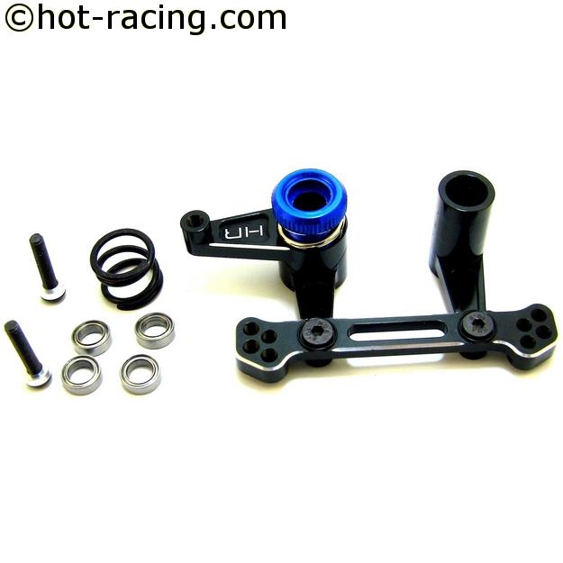 Hot Racing TE48X01 Aluminum Performance Steering Kit 2wd Slash, alu řízení Slash 2WD, Rustler,Bandit  2WD