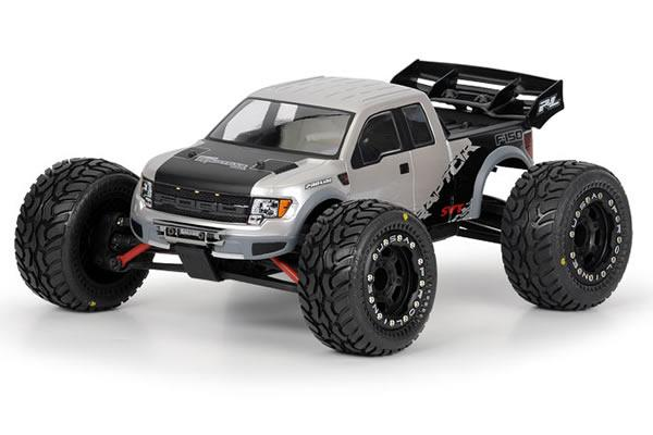 PL3360-00 Proline Ford F-150 Raptor SVT Clear Body for 1:16 E-REVO